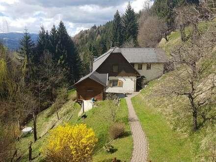 Wohnhaus im Grünen und doch stadtnah bei Wolfsberg