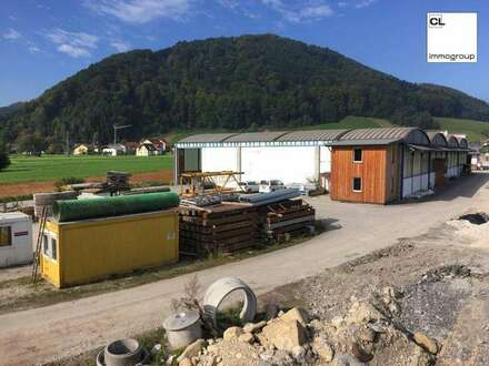 Betriebsbaugebiet mit großer Halle in Pinsdorf zu kaufen