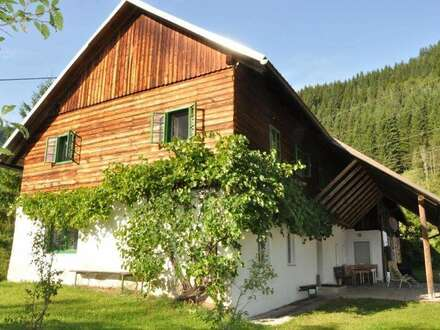 ALLEINLAGE mit Charme - Anwesen mit Land- & Forstwirtschaft - Ennstal, Altenmarkt b. St. Gallen