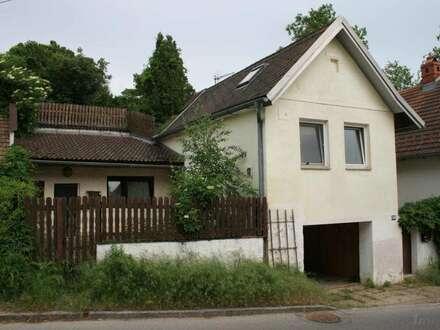 Renovierungsbedürtiges Kellerstöckel mit kleiner Wohnung, Kellerröhre, Garten!