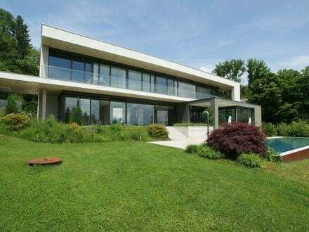 Moderne Architektur trifft Natur