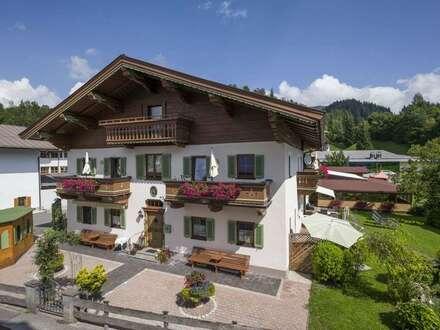 Zunkunftsträchtig: Gastronomie mit Pensionsbetrieb inmitten traumhafter Natur in Kössen / Tirol