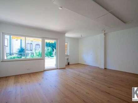 K3!!! Seeham - barrierefreie Wohnung mit Terrasse u. einem Schlafzimmer in Seenähe zu verkaufen!
