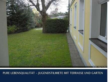 Maria Enzersdorf - ATTRAKTIVE NEU RENOVIERTE 2-ZIMMER GARTENMIETE IN STILVILLA NAHE DER BURGRUINE LIECHTENSTEIN