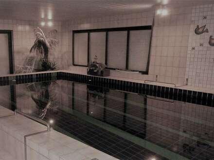 großes Einfamilienhaus mit Wellnessbereich und großem Swimmingpool