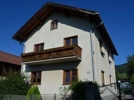 Grünbach am Schneeberg: Renovierungsbedürftiges Zweifamilienhaus mit Balkon in herrlicher Umgebung!