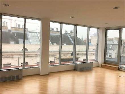 Modernes Dachgeschoss Büro am Hohen Markt, 1058m², 20 Räume, Top Ausstattung +Dachterrasse
