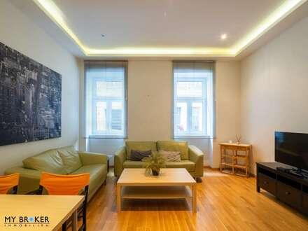 Moderne vollmöblierte Wohnung zur Kurzzeitvermietung (12 Monate oder kürzer)