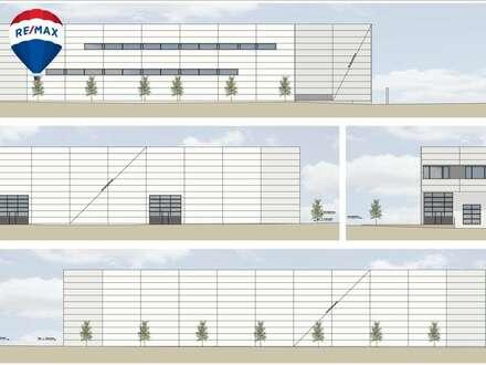 Neue hochwertige Lager- und Gewerbehallen in Hard