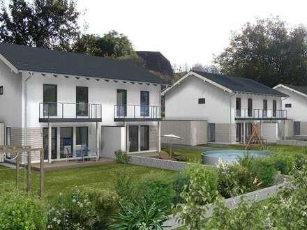 Neubau von modernen Einfamilienhäusern und Doppelhäusern von ELK Bau