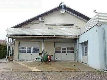 Betriebsobjekt im Industriegebiet mit Büro, Lager, Werkstatt und Wohnung, Obj. 12387-1-SI