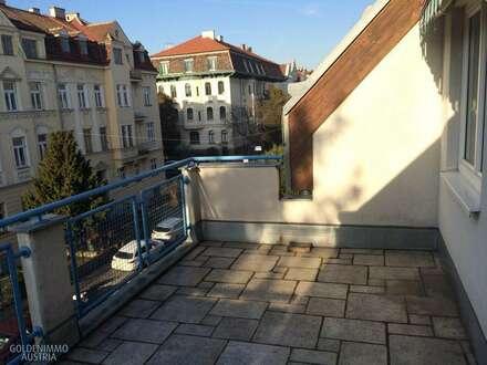 Cottage-Ruhelage mit Terrasse - sonnige 14 m² mit Ausblick!