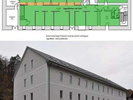 Sie brauchen mehr Flächen - wir haben Lagerflächen in der Klammühle zu mieten - Kellergeschoss ab 15m²