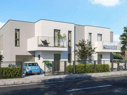 Neu am MARKT- Traumhaus mit großer Wohnküche, RH 2,70, Garage. Nähe S60, A4 und S1.