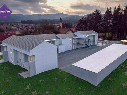 Provisionsfreie Neubauwohnung mit Terrasse und Garten in Grafendorf ...!