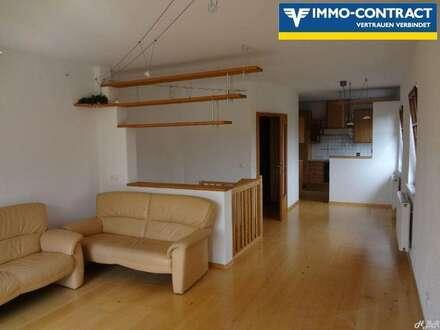 69 m² Mietwohnung mit Terrasse über 2 Geschosse!