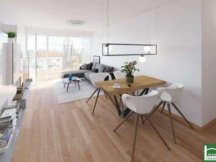 !EDEN 13 - Wunderschön geplante geräumige Familien-Wohnung mit Balkon! Nur 9 min zur U4! Rohbau fertiggestellt!