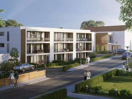 Mehrere Erstbezugs-Mietwohnungen mit Loggia und Garten