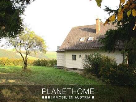 Einfamilienhaus in Streusiedlung ohne Direkten Nachbarn mit Ausblick