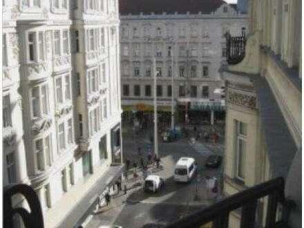 Rendite 1,7%: Wunderschöne Altbauwohnung, unbefristet vermietet direkt an der Mariahilfer Strasse