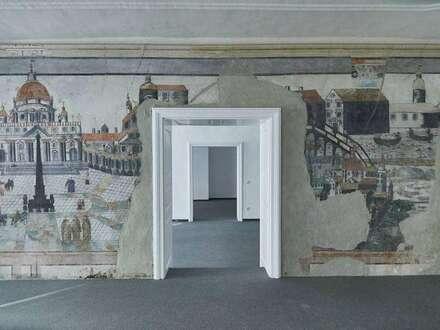 Einmaliges Flair: Büro mit Fresken aus dem 18. Jhdt.!