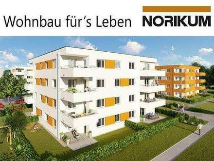 Wels, Wohnpark Zellerstraße Süd - schöne Gartenwohnung D2/1/EG