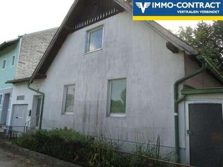 Haus mit Sanierungsbedarf