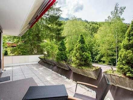 Familienwohnung mit 27m² Sonnenterrasse!