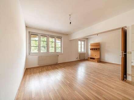 Zentral gelegene 2/3-Zimmer-Wohnung mit Loggia