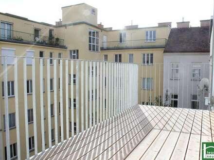 Urbanes Wohnen - ideale Raumaufteilung - Balkon & Terrasse - toller Ausblick - NÄHE PRATER!