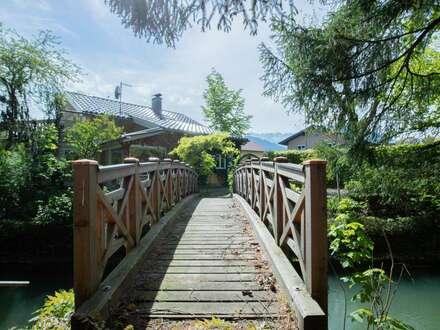 Zauberhaftes Haus mit viel Garten und eigenem Bach