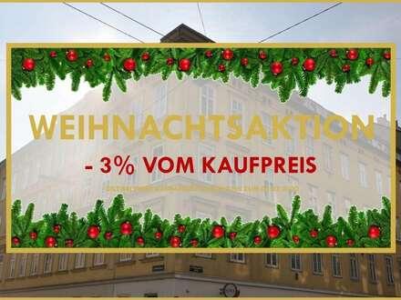 WEIHNACHTSAKTION: -3%! TOP SANIERTE 3 ZIMMER ALTBAUWOHNUNG NAHE MARIAHILFERSTRASSE UND U4