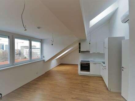 Neu! - Klimatisierte DG-Wohnung - große Schlafzimmer - KFZ Stellplatz optional