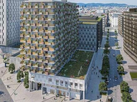 Büroflächen im Eigentum im QBC - Quartier Belvedere Central Bauteil 6