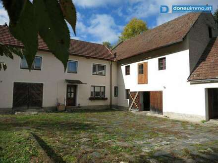 Kremstal: Liegenschaft mit großem Potential, Grundstücksgröße erweiterbar!