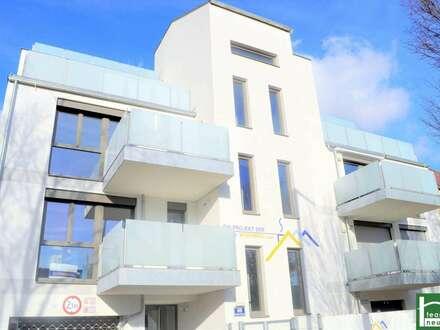 NEUBAU IN SEHR GUTER LAGE DES 21. BEZIRKS – NAHE DEM KH NORD! Schlüsselfertig! Ohne Provision - tolle 3 Zimmerwohnung + Freiflächen