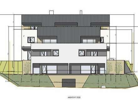 HAUS 1 und 2 - GEFÖRDERTE Doppelhäuser im Grünen von Altenberg mit Galerie+Sonnendachterrasse+Balkon+Terrasse und Eigengarten+2 TG+Keller/Altenberg
