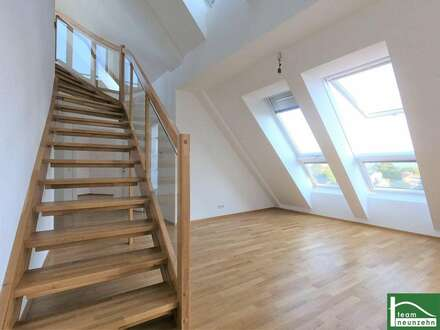 Traumhaftes, lichtdurchflutetes Dachgeschoss - Maisonette! Helle 3 Zimmer Wohnung mit Terrasse! Ruhiges, idyllisches Umfeld!