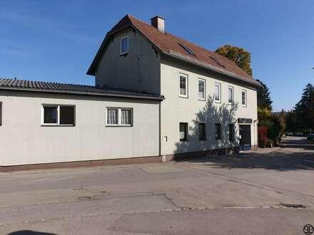 >>> Geschäftslokal mit Nebenräumen und großer Garage - in guter Lage von Alland