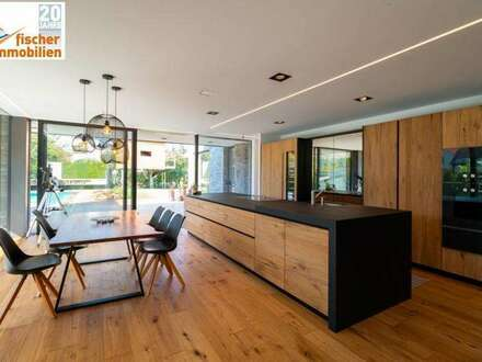 hochmoderne, exklusive Cubus-Villa