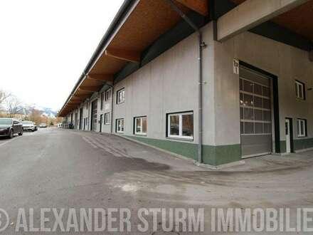 Vielseitige Lager-/Produktionshalle mit überdachter Freifläche   Hallenfläche 285 m2 + Freifläche 215 m2
