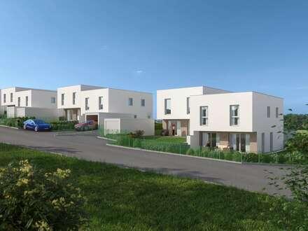 Neubau: geförderte Doppelhaushälfte in Grieskirchen