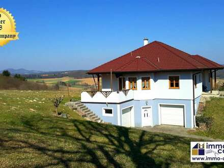 Top Bungalow mit Fernblick – Wohnnutzfläche ca. 249m² - Grund mit ca. 2019m² - 228.000 Euro Fix