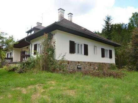 BAURECHT - Grundstück mit Forsthaus in Riesenbach, Klausen-Leopoldsdorf