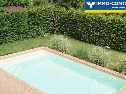 Der Traum vom Eigenheim mit Pool! Platz für 2 Familien!