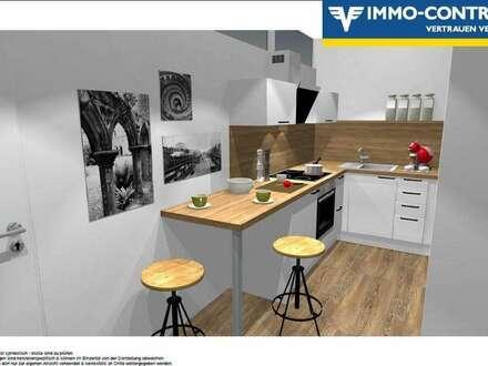 *erfolgreich vermittelt* ERSTBEZUG! Traumhafte 2-Zimmer-Wohnung mit moderner Küche, großem Bad, Parkplatz und Balkon