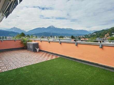 Großzügige Dachterrassenwohnung mit Stadtblick in Mühlau