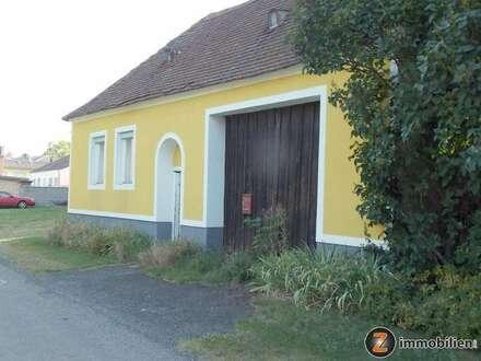 Nähe Oberpullendorf: Großer Grund mit sanierungsbedürftigem Haus