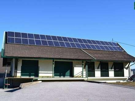 Lagerflächen mit Büro nahe Verschiebebahnhof Fürnitz