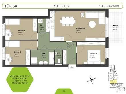 !! NEU !! Projekt ALETHEIA - SCHÖNE 4 Zimmer mit BALKON